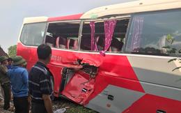 Vụ ô tô chở học sinh bị tàu hỏa đâm văng: Trên xe chở 48 em và 1 giáo viên đi học trải nghiệm