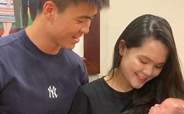 Quỳnh Anh lần đầu đăng ảnh gia đình nhỏ đầy hạnh phúc, Duy Mạnh chỉ nói hai từ đơn giản cũng khiến fan tan chảy vì quá tình tứ