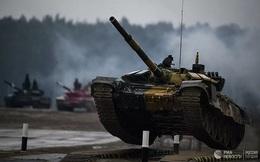 Mỹ 'tham vọng' thử nghiệm robot phá hủy xe tăng T-72 của Nga