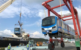 Đoàn tàu đầu tiên của tuyến Metro số 1 chính thức rời Nhật Bản, đang đến TP.HCM