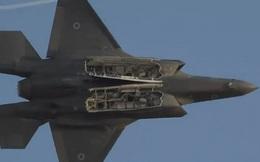"""Video: Máy bay F-35 """"Adir"""" của Israel gầm rú trên bầu trời, chao lượn ấn tượng"""