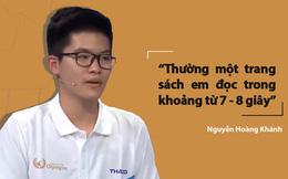 Bí kíp đọc 'siêu nhanh' của nam sinh Quảng Ninh lập kỷ lục mới ở Đường lên đỉnh Olympia