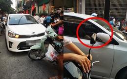 Đi vào đường cấm giờ tan tầm gây tắc nghẽn, tài xế bỏ xe lại đi làm việc riêng gây bức xúc