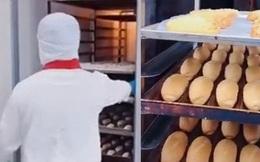 Xuất hiện hình ảnh bên trong lò bánh mì chuyên phục vụ các hãng hàng không ở Việt Nam, xem quy trình từ A đến Z mà choáng ngợp vì quá quy mô, sạch sẽ
