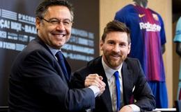 """Barcelona bất ngờ đề nghị chính sách """"bù đắp"""" đặc biệt, mở đường cho Messi ở lại Nou Camp"""