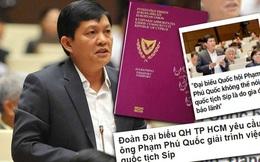 Vụ ĐBQH Phạm Phú Quốc có 2 quốc tịch:  IPC đề xuất Thành ủy chấp thuận cho thôi chức vụ