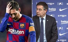 """Sau quyết định của Messi, Barca đối diện mùa giải """"ông không nên ông, thằng chả ra thằng"""""""