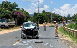 Va chạm với xe ô tô trên quốc lộ, người đàn ông thiệt mạng