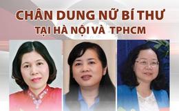 Chân dung 8 nữ Bí thư tại Hà Nội và TP HCM