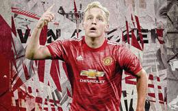Chưa đá trận nào cho M.U, Van de Beek đã 'vớ bẫm'