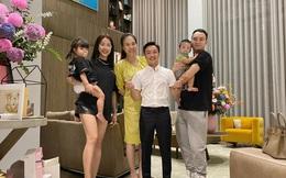 Cường Đô La và Đàm Thu Trang mở tiệc đầy tháng cho con gái