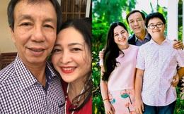 """Bị mẹ ngăn cấm, """"khủng bố đàn áp"""", cuộc hôn nhân của MC Quỳnh Hương và chồng hơn 14 tuổi ra sao?"""