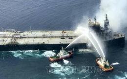 Sri Lanka: Dập tắt đám cháy trên tàu MT New Diamond chở 20 triệu thùng dầu