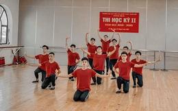 Tập múa cực kì uyển chuyển cho bài thi cuối kỳ, dàn nam sinh trường Văn hoá Nghệ thuật thu về clip 2 triệu view