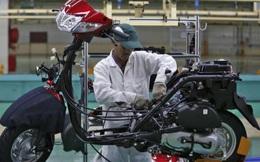 Doanh số xe máy Honda giảm mạnh trên toàn cầu