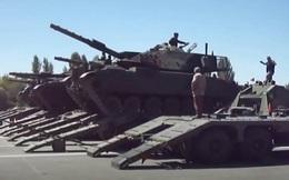 Thổ Nhĩ Kỳ bị nghi ngờ chuyển xe tăng tới biên giới với Hy Lạp