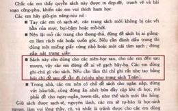 Trang sách cũ của 8X, 9X bỗng được share rần rần trên mạng, hóa ra nhờ câu nhắn siêu dễ thương từ nhà xuất bản