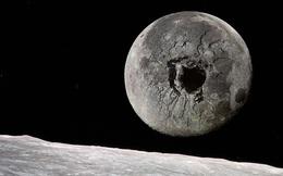 Nếu khoan một hố sâu 3000 km xuyên qua tâm của Mặt Trăng, chúng ta sẽ nhìn thấy được gì?