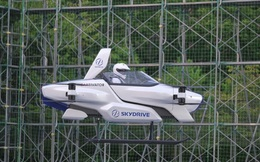 Nhật Bản thử nghiệm thành công ô tô bay