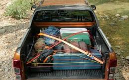 Mách bạn mẹo nhỏ xếp đồ trên xe bán tải