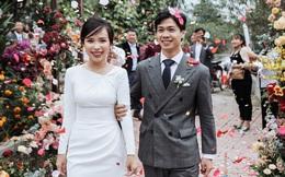 Chọn đúng khoảnh khắc đón năm mới 2021, Công Phượng đăng loạt ảnh cưới đẹp lung linh