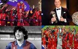 Bóng đá thế giới năm 2020: COVID-19 và điểm nhấn 'ăn ba'