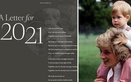 Ngay ngày đầu năm mới 2021, nhà Meghan Markle đã làm bùng nổ truyền thông bằng tấm hình Công nương Diana khi ra mắt trang web riêng