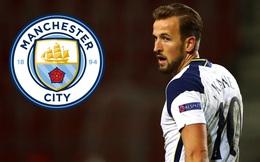 """Man City chi """"tiền tấn"""" đưa Harry Kane về thay Sergio Aguero"""