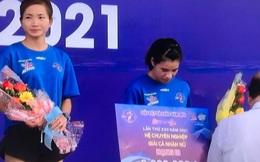 Kỷ lục gia SEA Games Nguyễn Thị Oanh vô địch giải chạy Chào năm mới