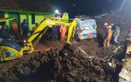 Ít nhất 30 người thương vong trong vụ sạt lở đất ở Indonesia