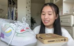 Hoá ra 'tiểu thư YouTuber' như Jenny Huỳnh cũng xài giày 'pha ke', nhưng nể nhất là khoản vẽ vời cực xịn