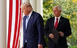"""Tổng thống Trump """"từ mặt"""" ông Pence kể từ cuộc bạo loạn ở điện Capitol"""