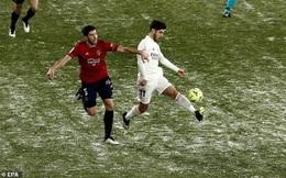 Real Madrid bị ảnh hưởng nặng nề bởi bão tuyết trước thềm Siêu Cúp Tây Ban Nha