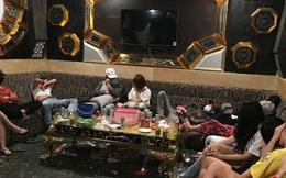 47 nam nữ phê ma túy trong quán karaoke ở Quảng Nam