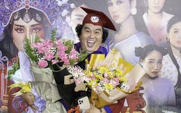 Tuổi 50, Hoàng Mập mới nhận bằng tốt nghiệp Đạo diễn, Việt Hương đòi làm điều khó tin