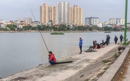 Vụ biến hồ Định Công thành nơi câu cá dịch vụ hốt bạc: 'Đá bóng' trách nhiệm?