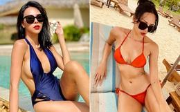 Vẻ nóng bỏng tuổi 33 của nữ siêu mẫu bị đồn yêu hoa hậu Kỳ Duyên