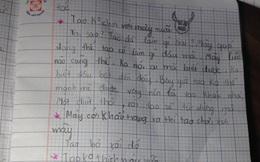 Cặp đôi Tiểu học 'nhắn tin' cho nhau, người lớn khi đọc phải ngượng giùm: Trẻ con bây giờ lớn nhanh quá!