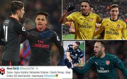 """Bất ngờ với """"Đội hình xuất sắc nhất của Arsenal"""" do Ozil lựa chọn"""