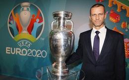 Euro 2020 có đến 99,9% diễn ra ở 12 thành phố