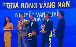 KẾT THÚC Gala QBV Việt Nam 2020: Nguyễn Văn Quyết lần đầu đoạt QBV nam Việt Nam