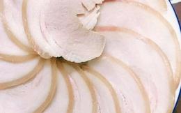 Thêm vài giọt này thịt lợn luộc thơm lừng, trắng mềm còn dễ thái