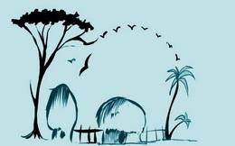 Người đang hạnh phúc sẽ nhìn thấy ngôi làng hay con voi trước tiên?
