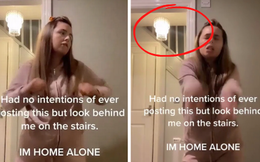 Đang quay video TikTok, cô gái kinh hãi tột độ phát hiện thứ rùng mình ngay sau lưng, thu hút hơn 14 triệu lượt xem