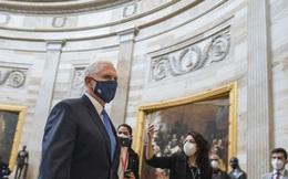 Sơ tán chậm, Phó Tổng thống Pence suýt chạm mặt nhóm bạo loạn Điện Capitol