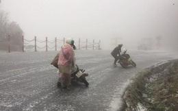 Băng giá, mưa tuyết có thể xuất hiện đêm nay ở Y Tý, dãy Hoàng Liên Sơn