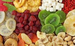 Bổ sung trái cây sấy đúng cách đem lại lợi ích cho sức khỏe