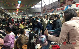 Mưa rét bất thường, chợ đồ cũ vài chục ngàn đồng/món đông khách chưa từng thấy