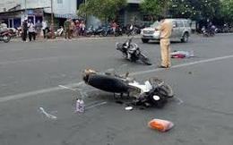 Điều khiển xe máy va chạm với cụ bà, thiếu tá công an tử vong