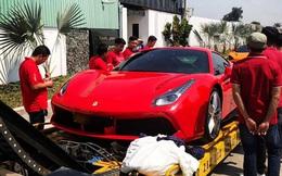 Vừa tậu McLaren 720S từng của Nguyễn Quốc Cường, đại gia lan đột biến lại 'vung tiền' mua Ferrari 488 GTB